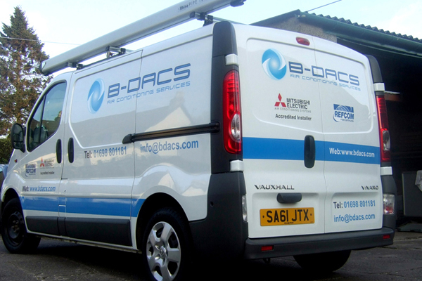 bdc9f0fc03 Vehicle Livery - Express Sign Company - Signage